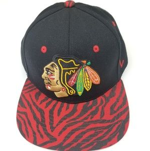 Chicago Hockey NHL Blackhawks Snapback Hat